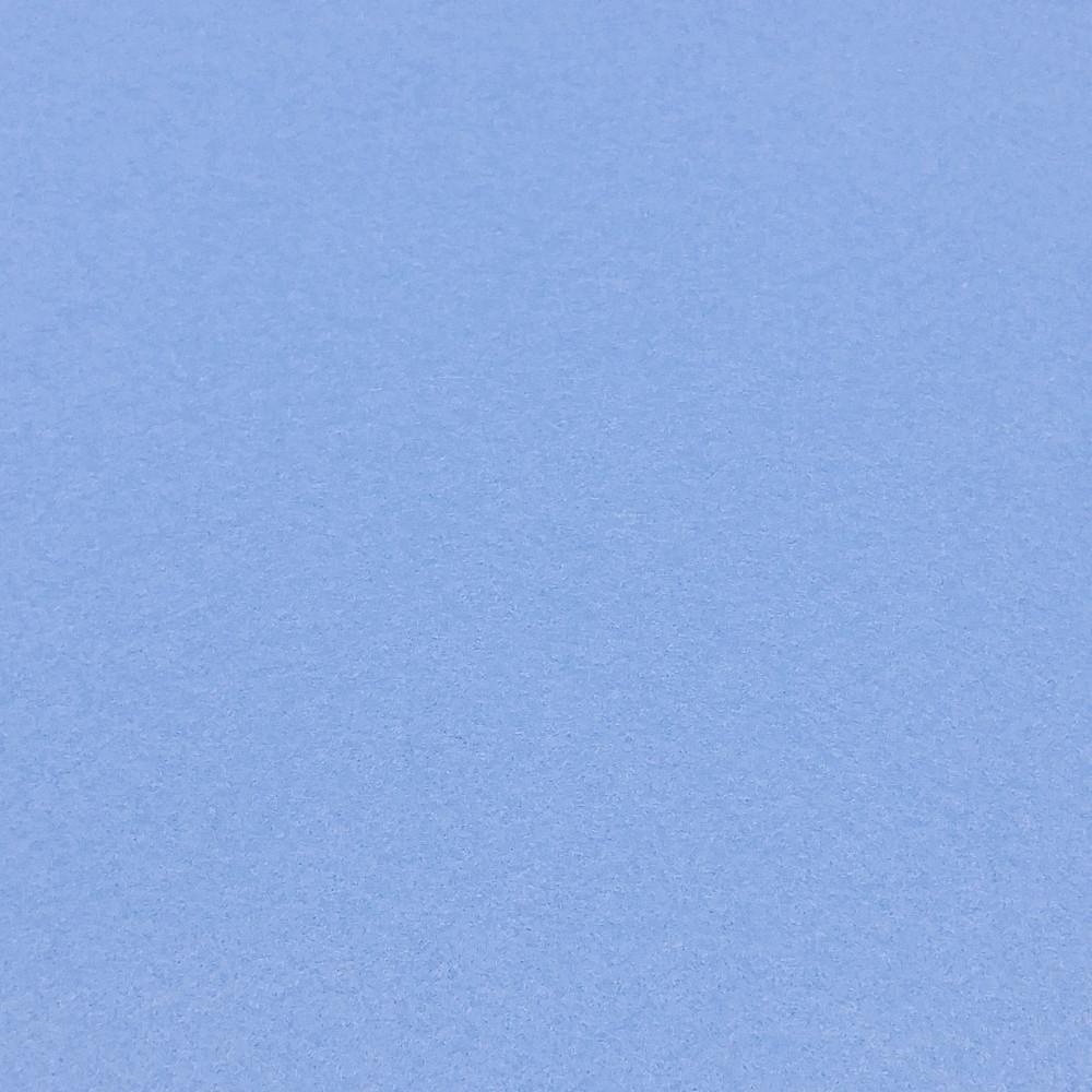 Фетр корейский мягкий 1.2 мм, 55x30 см, ПАСТЕЛЬНО-ГОЛУБОЙ