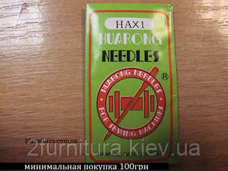 Иглы машинные быт. Huarong HAx1 10шт (80)