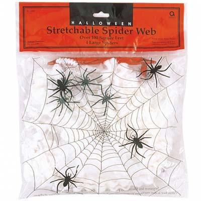 Гирлянда Паутина с пауками