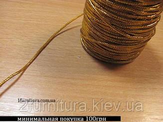 Шнур тонкий декоративный 100м (ЗОЛОТО)