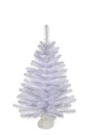Сосна 0,6 м Icelandic iridescent Белая с блеском (Time Eco TM)
