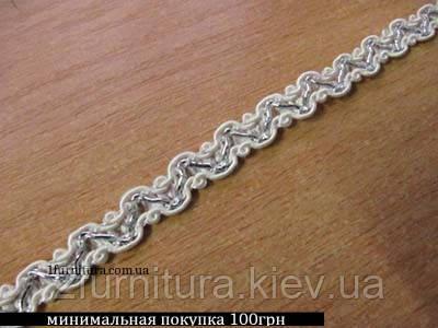Тесьма декоративная (8мм) 25м 437