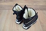 Зимові жіночі чоботи Adidas чорні. Живе фото (Репліка ААА+), фото 8
