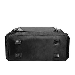 Дорожная сумка Kudouer (нейлон) черная  52х35х27  кс1215Сч, фото 2