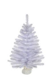 Сосна 0,9 м Icelandic iridescent Белая с блеском (Time Eco TM)