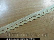 Резинка декоративная (12мм) 10м (СВЕТЛО-БЕЖЕВЫЙ)