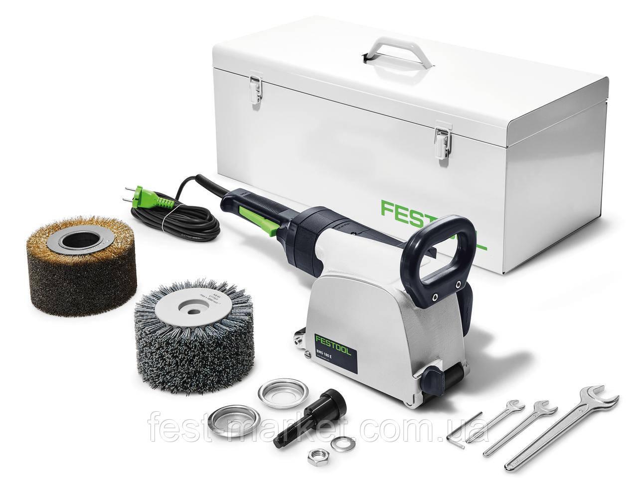 Щёточная шлифовальная машинка для старения древесины RUSTOFIX BMS 180 E Festool 570775