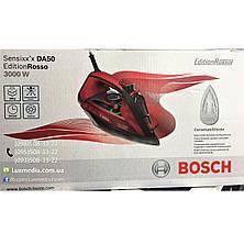 Утюг с подачей пара Bosch TDA503011P (3000 Вт, 45 г/мин, паровой удар 200 г, Подошва CeraniumGlissee), фото 2