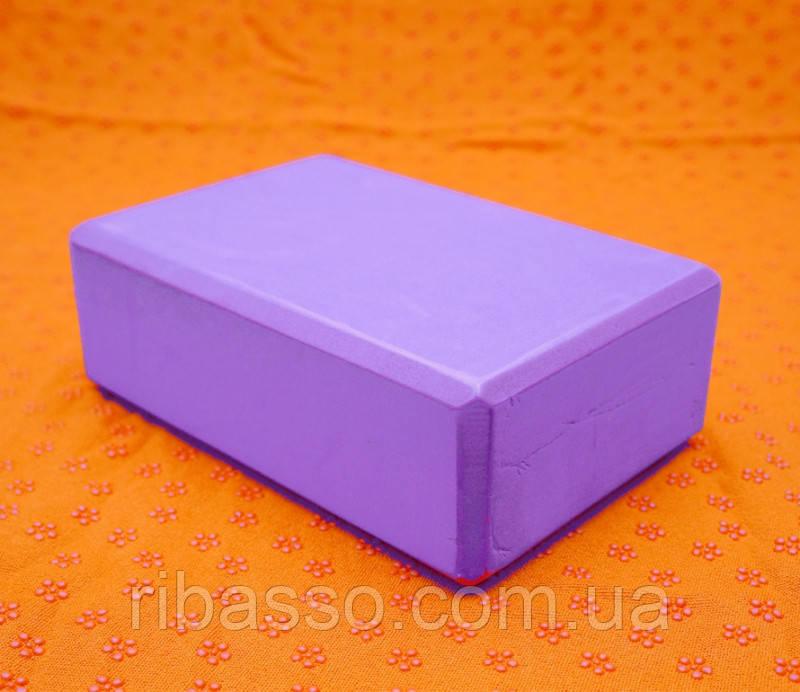 9290163 Кирпич для Йоги Фиолетовый
