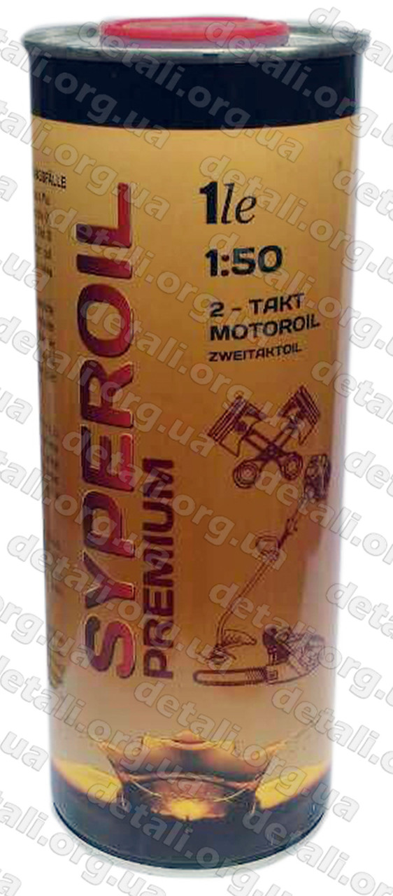 Масло для двухтактных двигателей SUPEROIL 2T ж/б 1L
