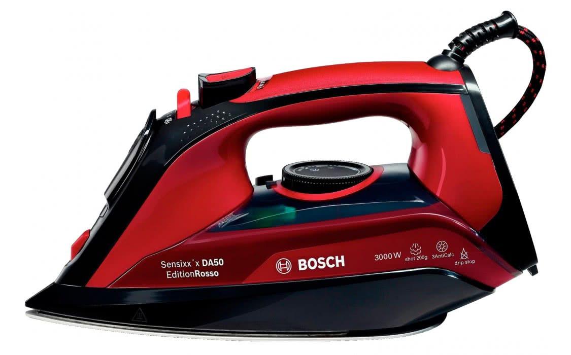 Утюг с подачей пара Bosch TDA503011P (3000 Вт, 45 г/мин, паровой удар 200 г, Подошва CeraniumGlissee)