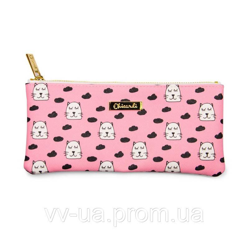 Косметичка-пенал Сhicardi Cats (Pink)