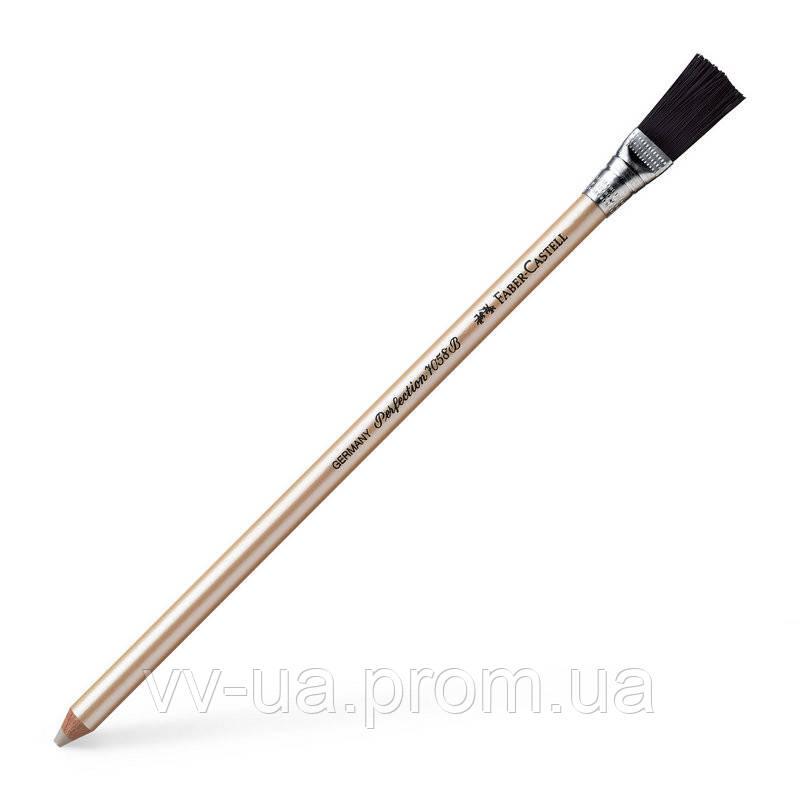 Ластик-карандаш Faber-Castell Perfection 7058 с кисточкой 185800