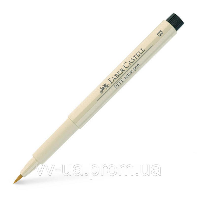 Ручка Faber-Castell PITT, B, теплый серый (270) 167570 (22839)