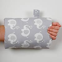 """Подушка для кормления на руку для малыша """"Слоник"""""""
