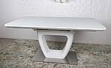 Стол обеденный TORONTO 160/210*90 матовое стекло белый Nicolas (бесплатная доставка), фото 3
