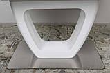 Стол обеденный TORONTO 160/210*90 матовое стекло белый Nicolas (бесплатная доставка), фото 7