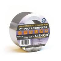 Скотч алюминиевый высокотемпературный 50мм*40м до +130..+150°С