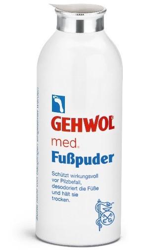 Fuss Puder Gehwol Med, пудра для ног