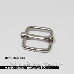 Регуляторы для сумок (16мм) никель, 20шт 04188