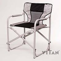 """Кресло Vitan """"Режиссерское"""" алюминий (серый), фото 1"""