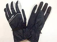 Перчатки горнолыжные мужские р.L (черные/серые), фото 1