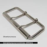Пряжки для сумок (80мм) никель, 2шт 04114