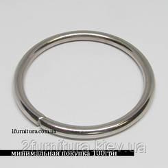 Кольца для сумок (51мм) никель, 4шт 4327