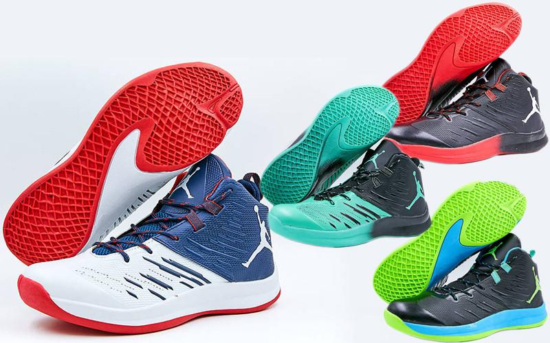 74fa7370 Мужские баскетбольные кроссовки Jordan 8509 (обувь для баскетбола), 4  цвета: 41-