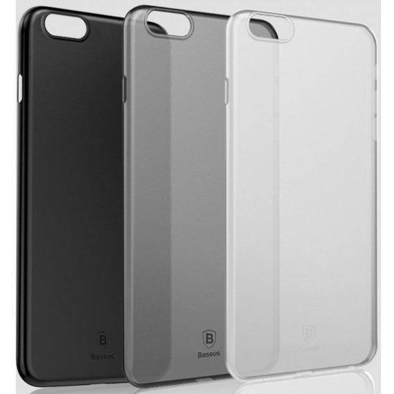 Чехол Baseus iPhone 6S Wing Transp Black