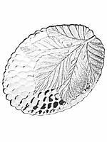 Набор овальных тарелок мелких Pasabahce Sultana 180мм*230мм 2 шт (10292)