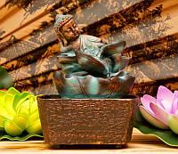 9140042 Водопад полистоун Будда