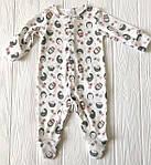 """Человечек для новорожденного  с шапочкой """"Ежики"""", фото 2"""