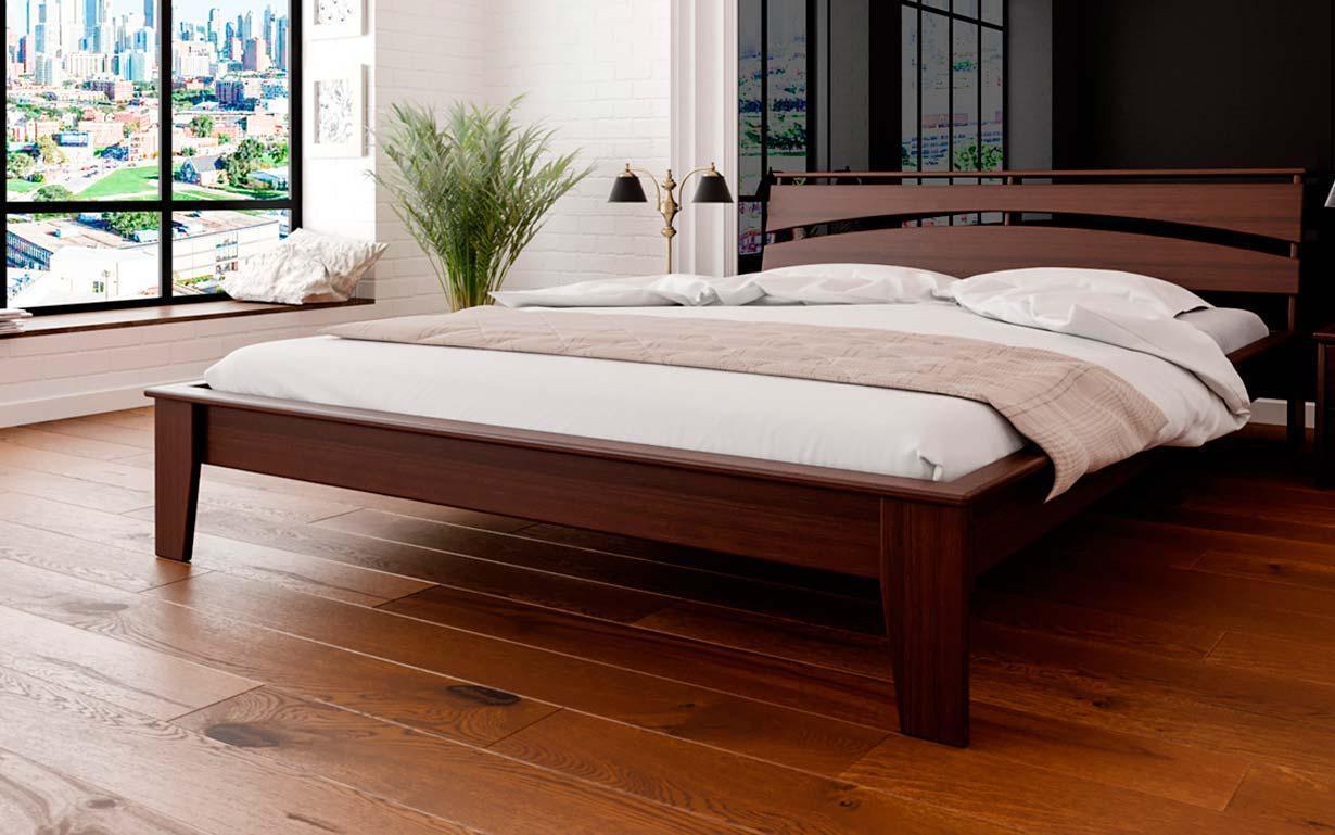 Деревянная кровать Венеция 140х190 см. ЧДК