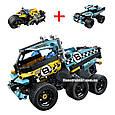 "Конструктор Decool 3420 ""Трюковой грузовик"" 142 деталей. Аналог Lego Technic 42059, фото 6"