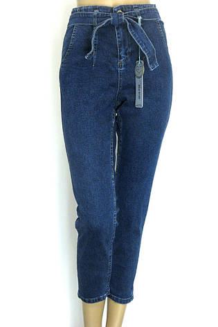 Жіночі джинси мом з поясом  купити по доступній ціні у