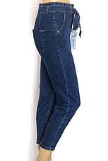 Жіночі джинси мом з поясом, фото 2