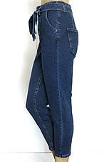 Жіночі джинси мом з поясом, фото 3