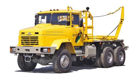 Лесовозный тягач КрАЗ-64372 IK