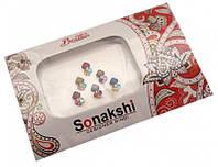 """9080030 Комплект наклеек на лицо или на ногти """"Sonakshi Bindi"""" №64"""