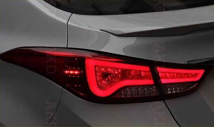 Диодные фонари Led тюнинг оптика Hyundai Elantra MD