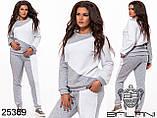 Теплый спортивный костюм на флисе размер 50-52,54-56, фото 2
