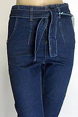 Джинси Mom Jeans з поясом, фото 3