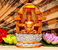 9140036 Водопад полистоун Будда
