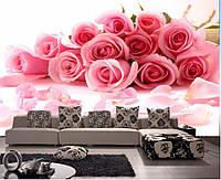 """3D фотообои """"Букет роз"""" (флизелиновые)"""