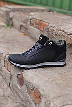 Мужские зимние кожаные ботинки/кроссовки Nike.Купить в Украине!, фото 3