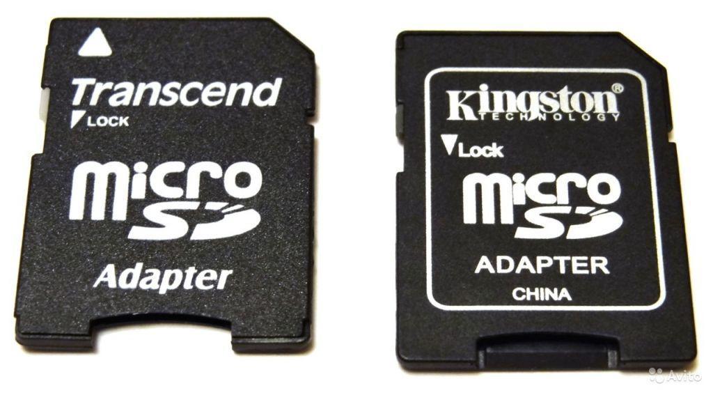 Переходник под карту памяти, адаптер micro SD