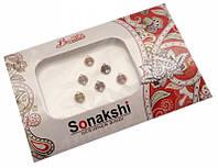 """9080030 Комплект наклеек на лицо или на ногти """"Sonakshi Bindi"""" №63"""