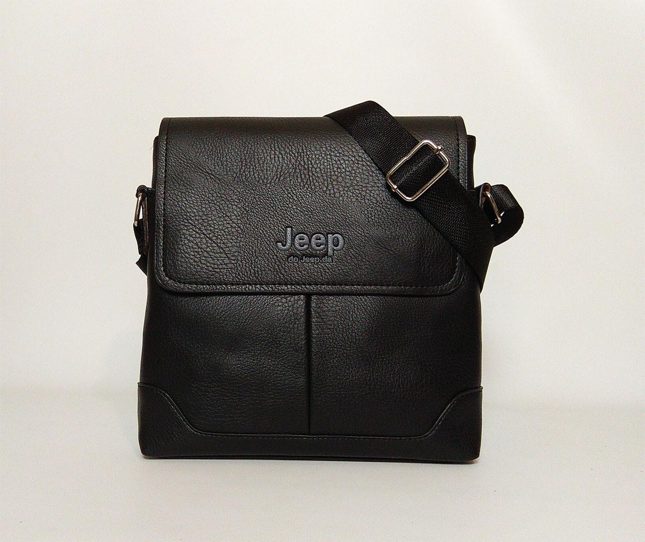 01db72393163 Мужская сумка через плечо Jeep 555-2 black: продажа, цена в Львове ...