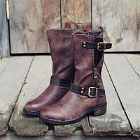 Полусапоги - удобная обувь для каждой девушки в ассортименте магазина Мариго